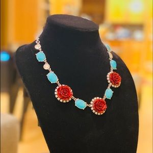 Lia Sophia Red Rose and Turquoise Set